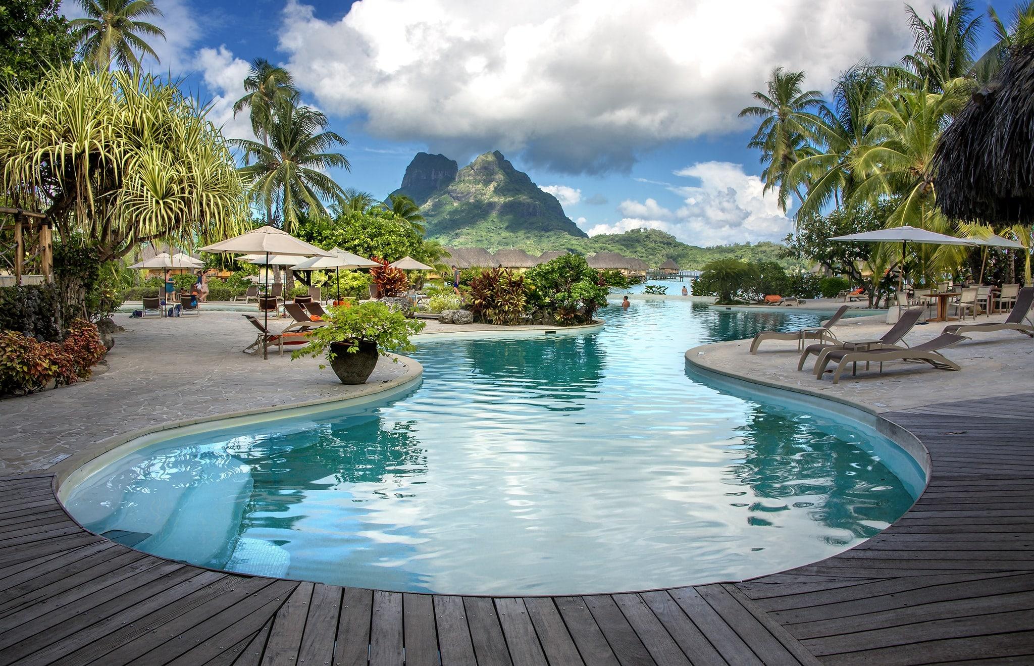 Photos of Pearl Beach Resort  Spa  Bora Bora  Franklin Arts