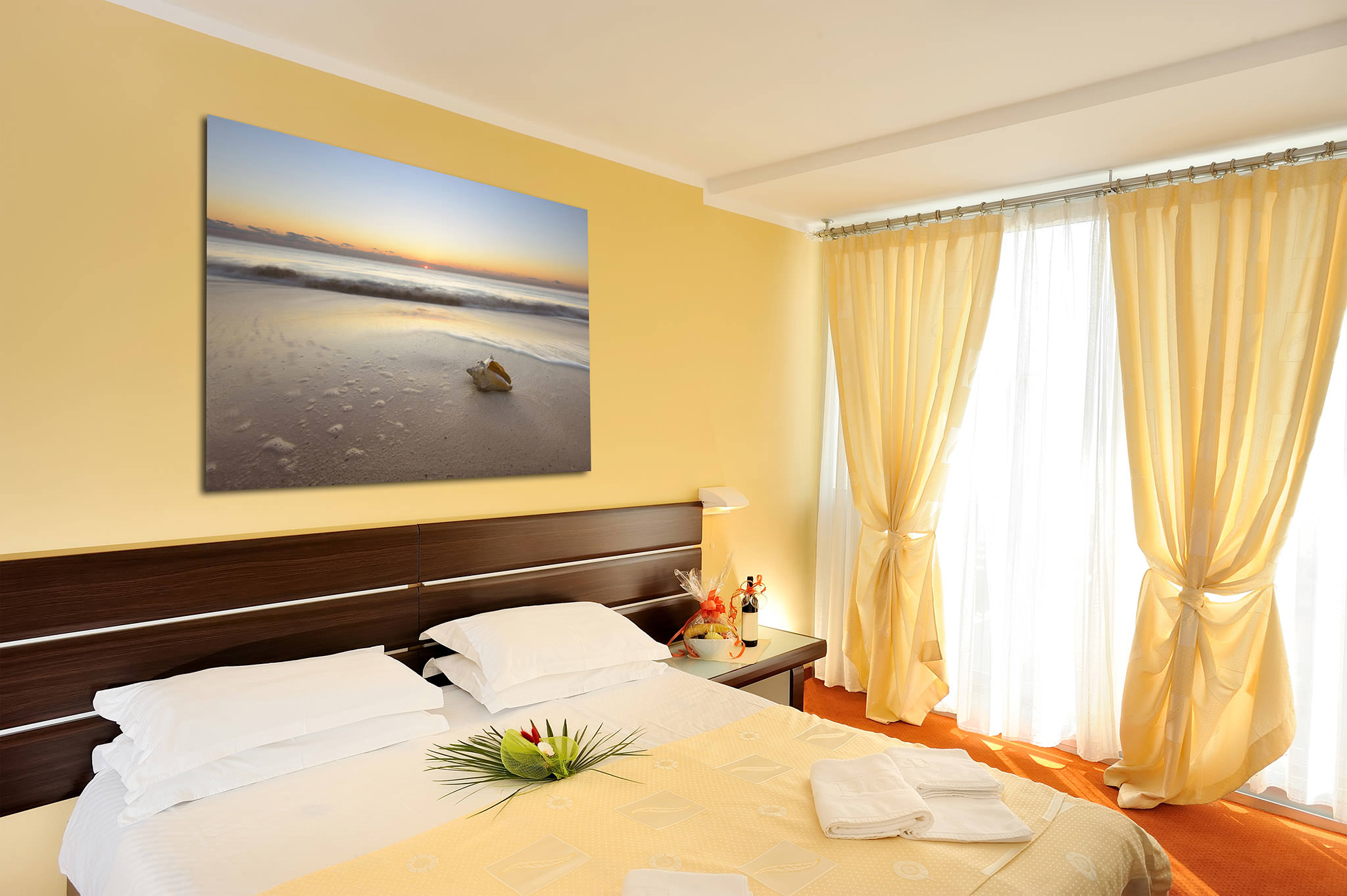 Bedroom Seascape Artwork