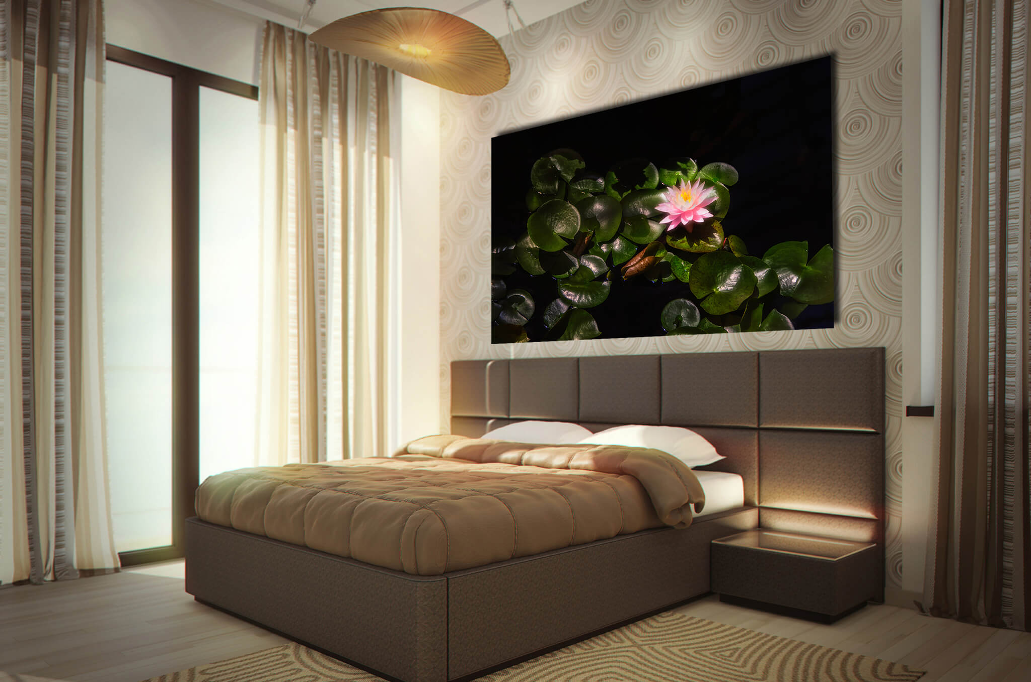Bedroom Flower Art