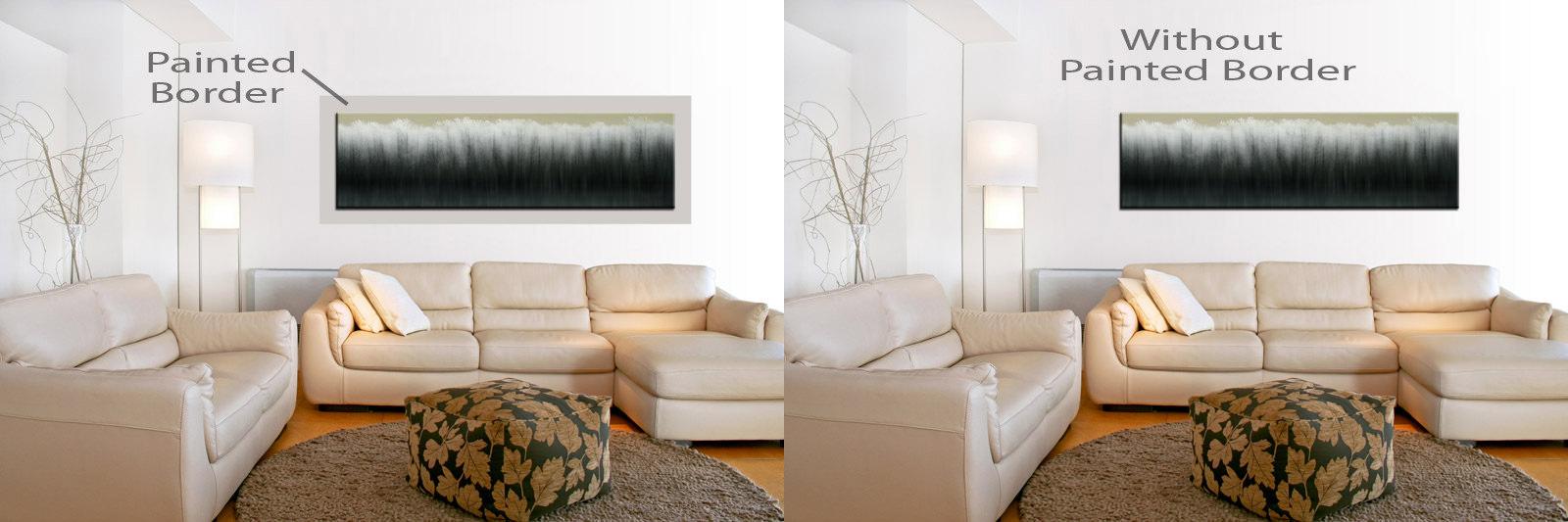 Using Wall Paint to Enhance Wall Art - Franklin Arts